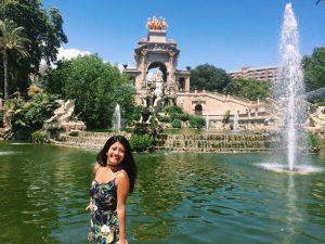 Asha in Barcelona